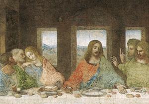 Leonardo, Ultima cena (Wikipedia)