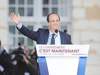 François Hollande (Xinhua su Adnkronos.com)