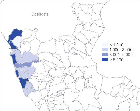 Popolazione nei comuni della Calabria Nord-Occidentale (secolnovo.it)