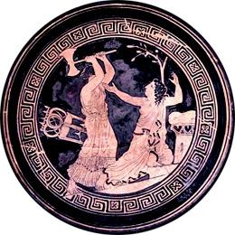 Clitennestra uccide Cassandra (archeobologna.beniculturali.it)