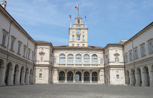 Cortile del Quirinale (fotoeweb.it)