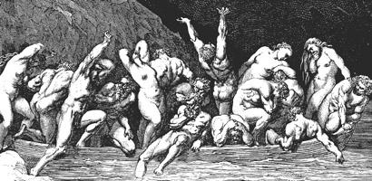 Gustave Doré, The souls «lasse e nude» (Wikipedia)