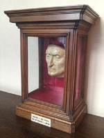 Dante's death mask (ioamofirenze.it)