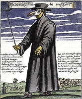 Paul Fürst, Plague doctor, 1656 (Wikipedia)