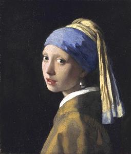 Vermeer, Ragazza con l'orecchino di perla (mauritshuis.nl)