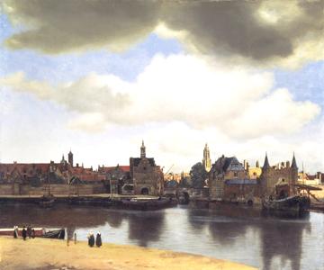 Vermeer, Veduta di Delft (mauritshuis.nl)