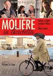 locandina Molière in bicicletta