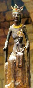 Vergine di Rocamadour (imagessaintes.canalblog.com)