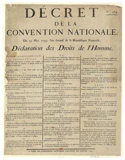 Déclaration des Droits de l'Homme, 1793 (gallica.bnf.fr)