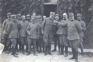 ST_Ufficiali medici Ospedale di Tappa Cividale 1915 2 secolnovo.it